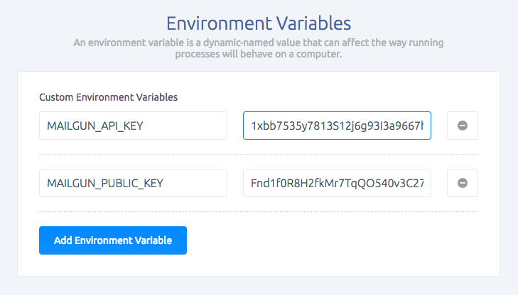 environment-variables-in-sashido-dashboard